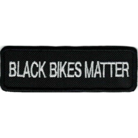 PATCH - BLACK BIKES MATTER
