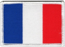 small PATCH - French Flag - drapeau Francais - France