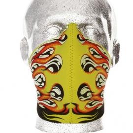 Bandero - Flames Half / Face Mask - Hot Rod