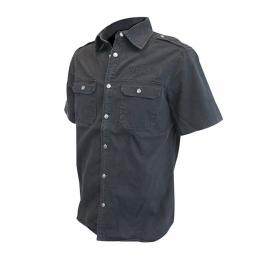 Jack Daniel's - Work Shirt - Grey - Short Sleeves