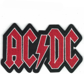PATCH - Band Logo - AC/DC - ACDC - AC-DC Lettres