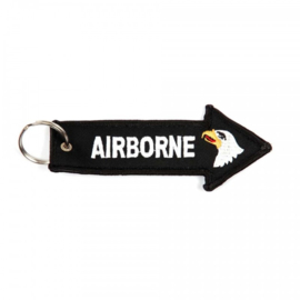 Embroided Keychain - ARROW - AIRBORNE with eagle head