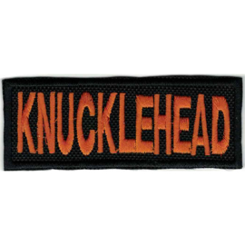 Orange PATCH - HD - KNUCKLEHEAD