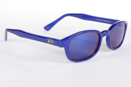 Original KD's - Sunglasses - BLUE ICE - Blue Frame & Blue Mirror Lens