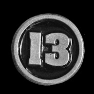 P155 - Small PIN - Number 13