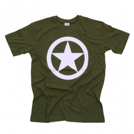 T-Shirt Allied Star - Green