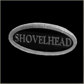 P184 - PIN - Metal Badge - Shovelhead