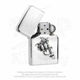 Alchemy England - PETROL LIGHTER - ZIPPOstyle -Tattoo Gun