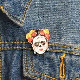 Pin - Frida Kahlo - Dia de los Muertos
