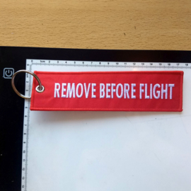 Bigger Embroided Keychain - REMOVE BEFORE FLIGHT