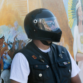 Biltwell - Lane Splitter Helmet - Glossy Black (ECE)