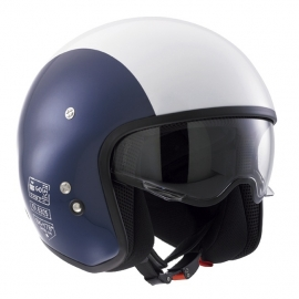 DIESEL - Hi-Jack Open Face Helmet - ECE - Blue/White SK-Y 78 - ONLY XS LEFT