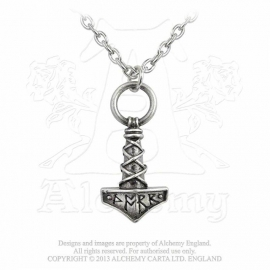 Alchemy England - Thor's Hammer - Pendant & Chain