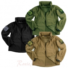 Waterproof Soft Shell Jacket - Tactical - Three Colours