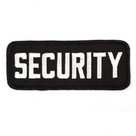 PATCH - SECURITY - White on Black - PRO