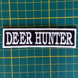 White PATCH - stick / flash  - DEER HUNTER