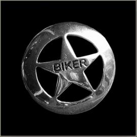 P136 - Large PIN - Lone Star BIKER - Sheriff Star
