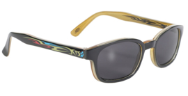 Original KD's - Tattoo Sunglasses - Tribal Frame & Smoke Lens - Primal