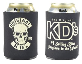 Original KD's - Skull Can Koozie - Can Cooler - 1 FREE with KD sunglasses/reading glasses