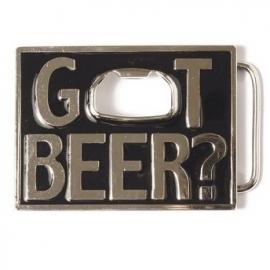 BUCKLE - Got Beer (with bottle opener)