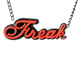 red Freak necklace