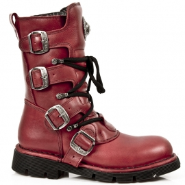Red Nomads - New Rock - Rocker Boots - Air Soles