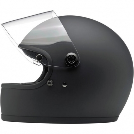 Biltwell INC - Gringo 'S' Full Face Helmet with Visor - DOT [Flat Black]