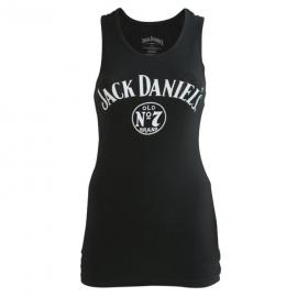 Jack Daniel's - Tank Top / Racer Top - Long - Original Small Classic Logo