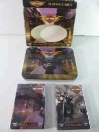 Collectible Tin & Playing Cards - Harley-Davidson