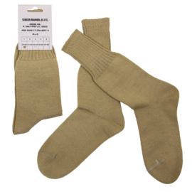 Dutch Army Socks (30% Wool) - Khaki/Sand