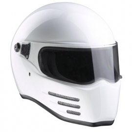 BANDIT - Fighter Full Face Helmet - ECE [Glossy White]