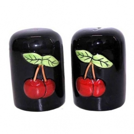 Salt and Pepper shakers (cherries)
