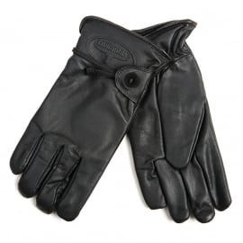 Longhorn Rodeo Gloves - BLACK