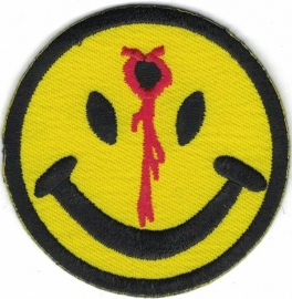 015 - PATCH - Smiley with Headshot