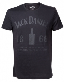Jack Daniel's - T-Shirt -  Original 1866 - Black