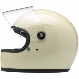 Biltwell INC - Gringo 'S' Full Face Helmet with Visor - DOT [Vintage White]