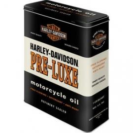 Harley-Davidson - Tin Storage Box - Pre-Luxe