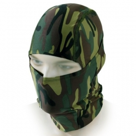 Camouflage Face Mask - Ninja Balaclava - 101 INC Fostex
