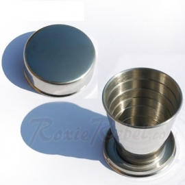 Stainless Steel Folding Cup (1/20 ltr) - 101 INC