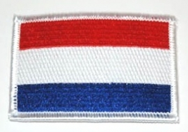 109 - small PATCH - Dutch Flag - Holland - The Netherlands