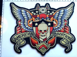 BACKPATCH - AMERICAN TRADITION - Oldschool American Tattoo Style