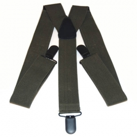 Army (green) Wear Suspenders - 101 INC