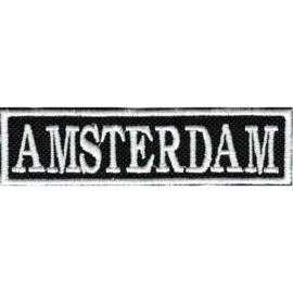 White PATCH - Flash / Stick - AMSTERDAM - NL