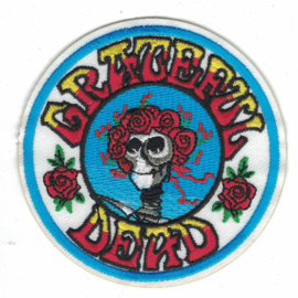 PATCH - GRATEFUL DEAD - Skeleton with roses