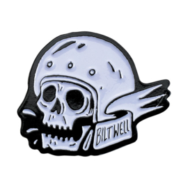 PIN - BILTWELL - Skull with Helmet
