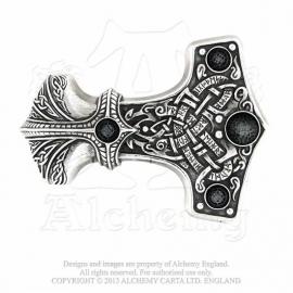 Alchemy England - BELT BUCKLE - Thor - Thunder Hammer