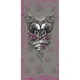 Lethal Angel - Skull & Roses Tube - Lethal Threat
