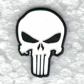 PIN - Marvel - The Punisher - White