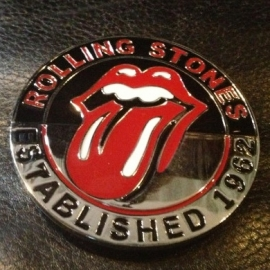 The Rolling Stones (established in 1962) Tongue BUCKLE