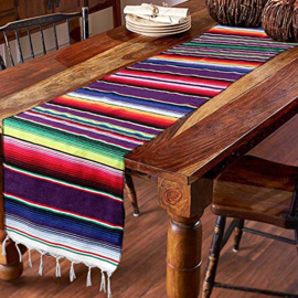 Table Runner - Mexican blanket style